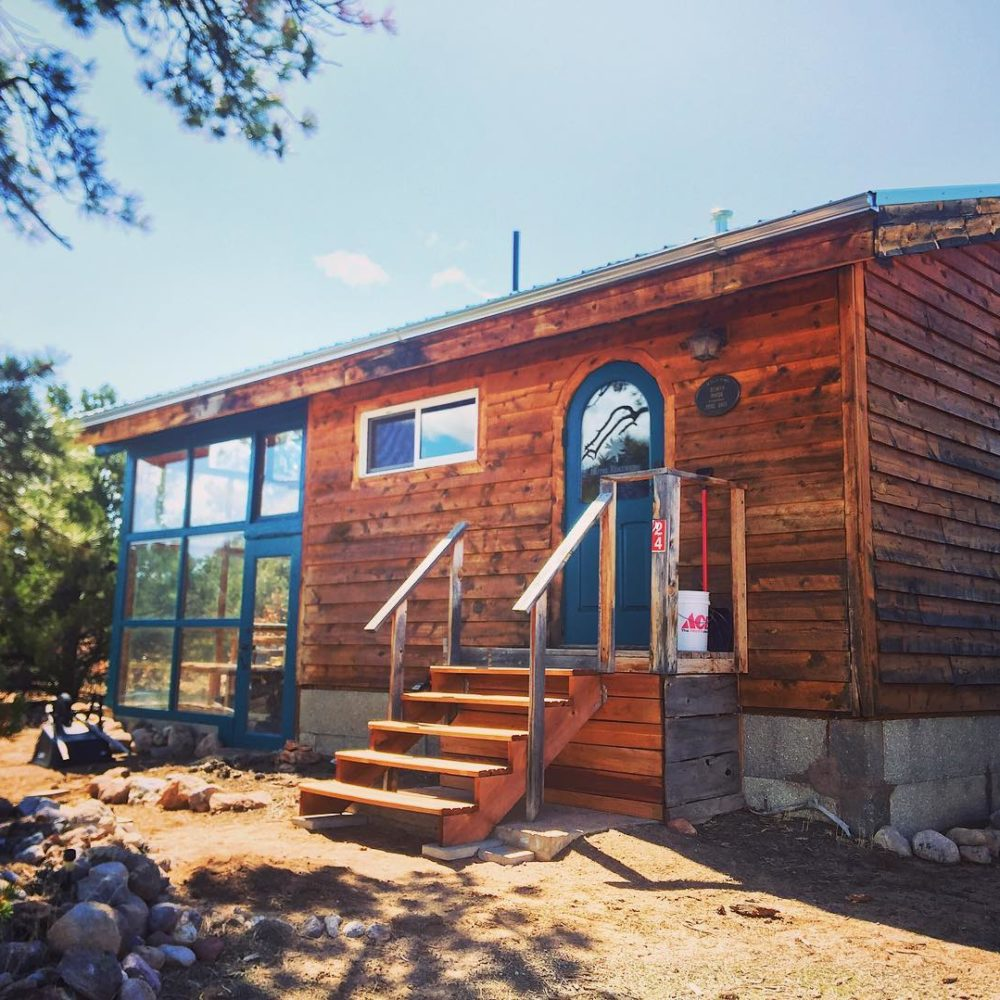 Welcome to The Little Goat Outpost                           Hosting Goat Hikes + Tent Camping Sites in Tres Piedras, New Mexico